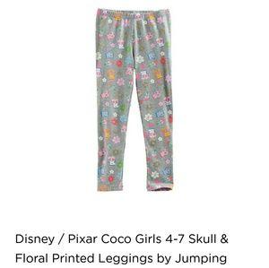 fcb627a20f34e Disney Bottoms | Coco Sparkle Print Leggings | Poshmark